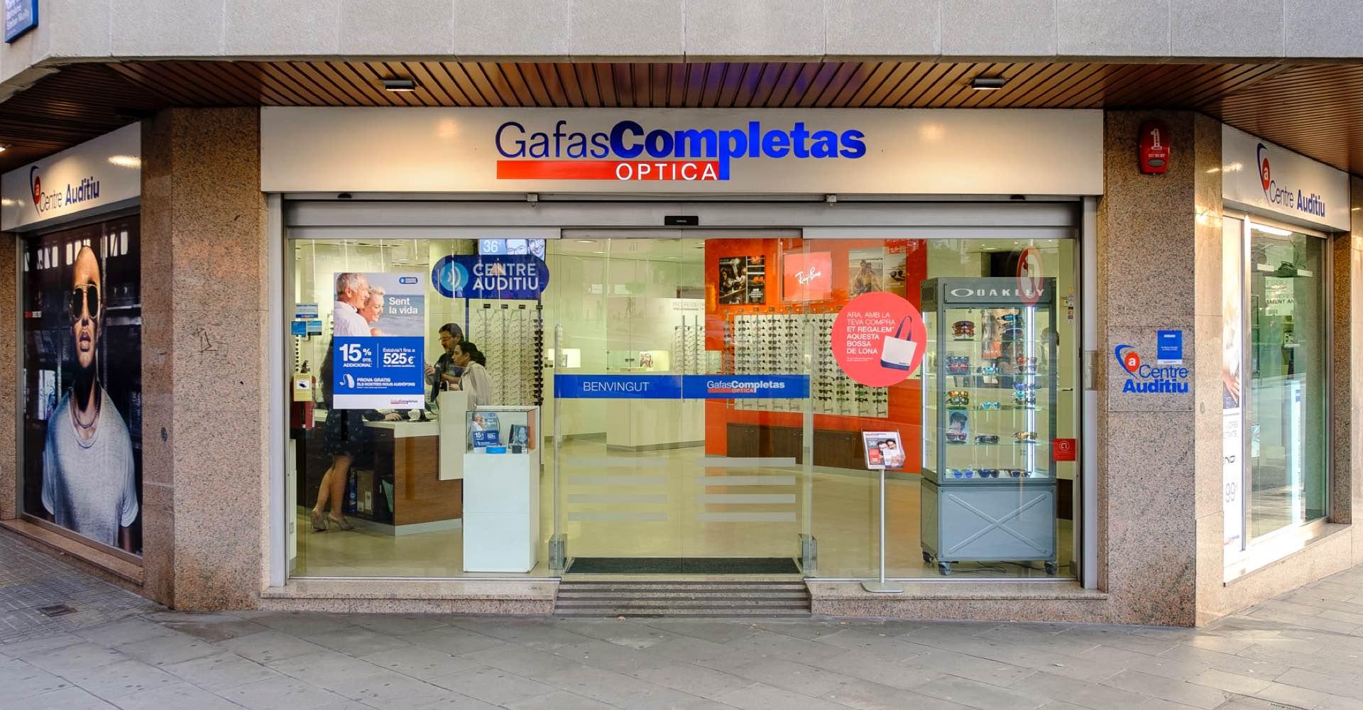 141ba65660 Cornellá de Llobregat - Gafas Completas