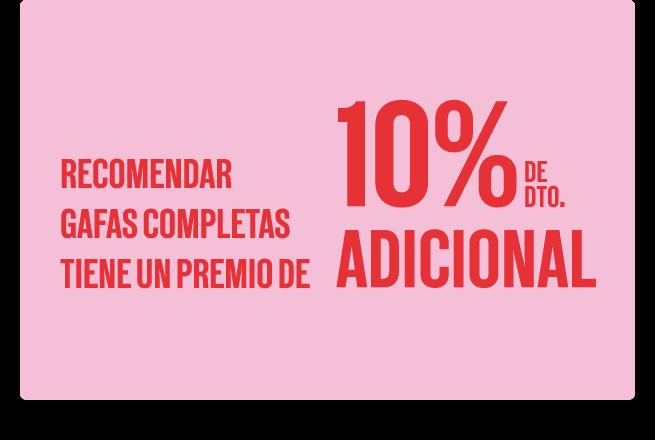 10% de descuento adicional
